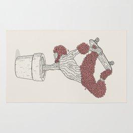 Handplant Rug