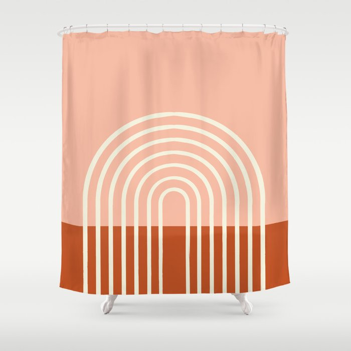 Terracota Pastel Shower Curtain