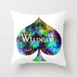 Wildcard Rainbow Haze Throw Pillow