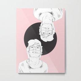 smokin matt Metal Print