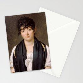 """Jacques-Louis David """"Suzanne Le Peletier de Saint-Fargeau"""" Stationery Cards"""