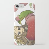 fili iPhone & iPod Cases featuring Fili&Apple by ScottyTheCat