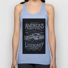 American Highway Star Unisex Tank Top