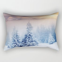 Winter Paradise Rectangular Pillow
