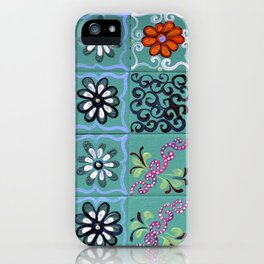 """Country Patchwork (iv)"" by ICA PAVON iPhone Case"