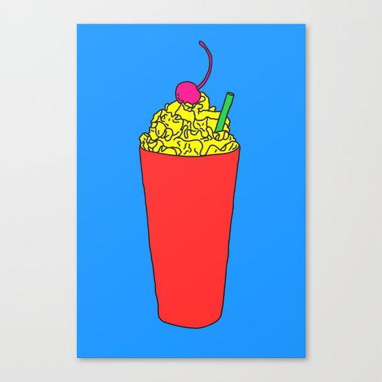 Meal Alternative Canvas Print