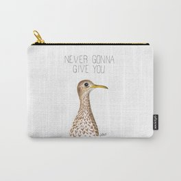 Never Gonna Give You Upland Sandpiper Carry-All Pouch