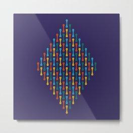 Chromosome Metal Print