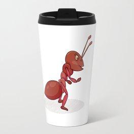 Red ant Travel Mug