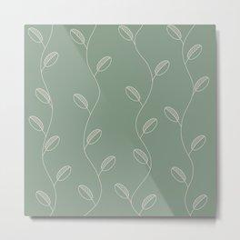 Delicate plant Metal Print