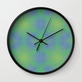 Purple and Green Should Always Be Seen Wall Clock