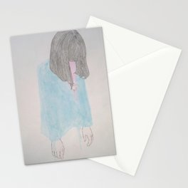 why does the past seems happier? Stationery Cards