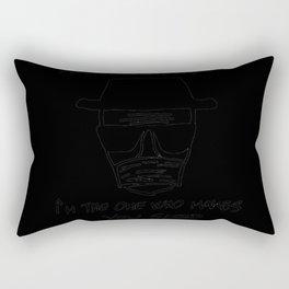 Heisenberg as an anesthesiologist Rectangular Pillow