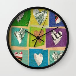 Walk on By, Love Wall Clock