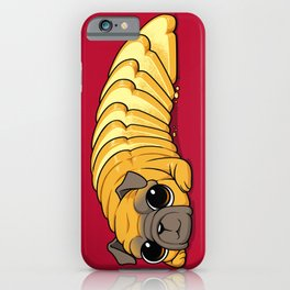 Pug Bread iPhone Case