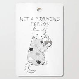 Morning Pajamas Cat Cutting Board