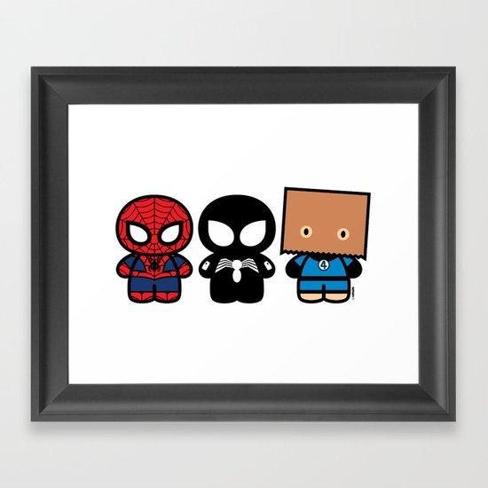 Peter Parker's Cabinet Framed Art Print