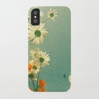 daisy iPhone & iPod Cases featuring Daisy by Cassia Beck