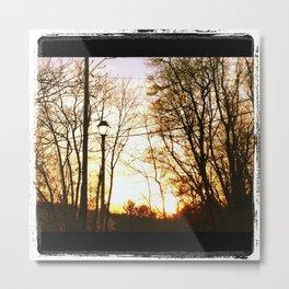 Gaslight Treelight Metal Print
