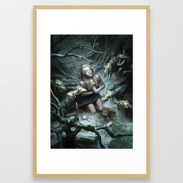 Cwn Annwn Framed Art Print