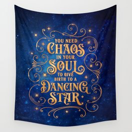 Dancing Star Wall Tapestry