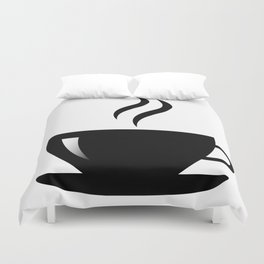Coffee Cup Duvet Cover