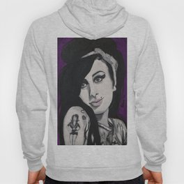 Amy Black and white Hoody