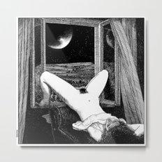 asc 558 - Le clair de femmes (Moonstruck) Metal Print
