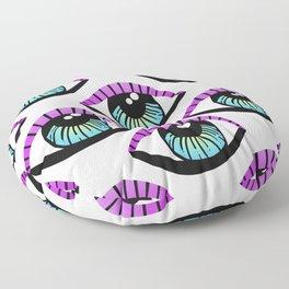 Trippy Eye Pattern Floor Pillow