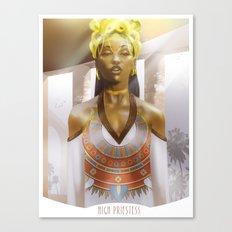 High Priestess Canvas Print