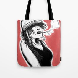 Safety First (Pink) Tote Bag