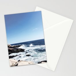 New England Ocean Waves Stationery Cards