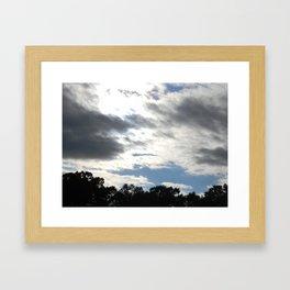 BlueSky. Framed Art Print