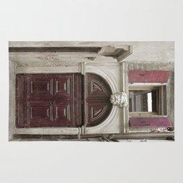 Venetian Door in Eggplant Purple Rug