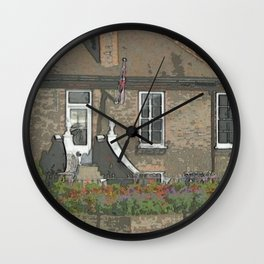 A Place in Surrey DPPA140806a Wall Clock