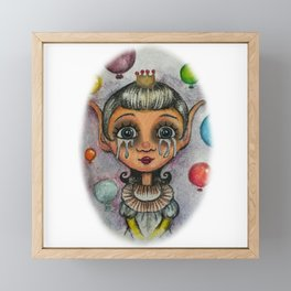 little princess Framed Mini Art Print