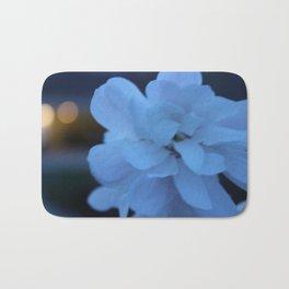 Blue Flower Bath Mat