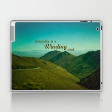 Everyday Is A Winding Road Laptop & iPad Skin