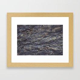 Rough Rock Texture Framed Art Print