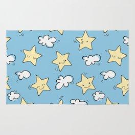 Lovely Star Pattern Rug