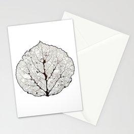 Aspen Leaf Skeleton 1 Stationery Cards
