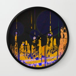 The Influencers Urban Totems Wall Clock