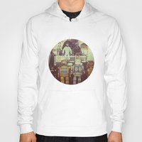 robots Hoodies featuring Robots by GF Fine Art Photography