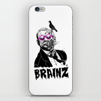 political iPhone & iPod Skins featuring political zombie theme by Krzysztof Kaluszka