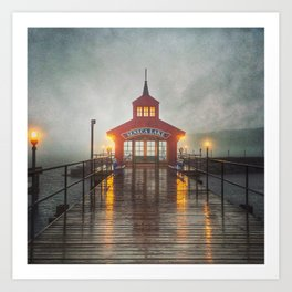 Evening Fog Art Print
