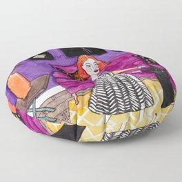 A Little Dance Party Floor Pillow