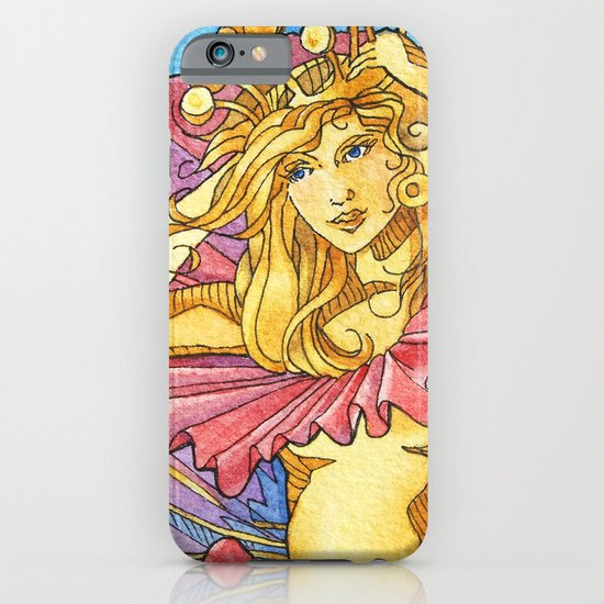 Hibiscus Queen iPhone & iPod Case