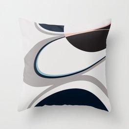 Planetary Rings Throw Pillow