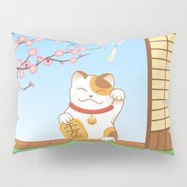 Maneki Neko Pillow Sham