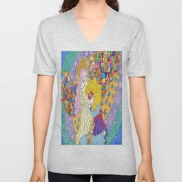 My Angel Comforts Me In My Dreams Unisex V-Neck